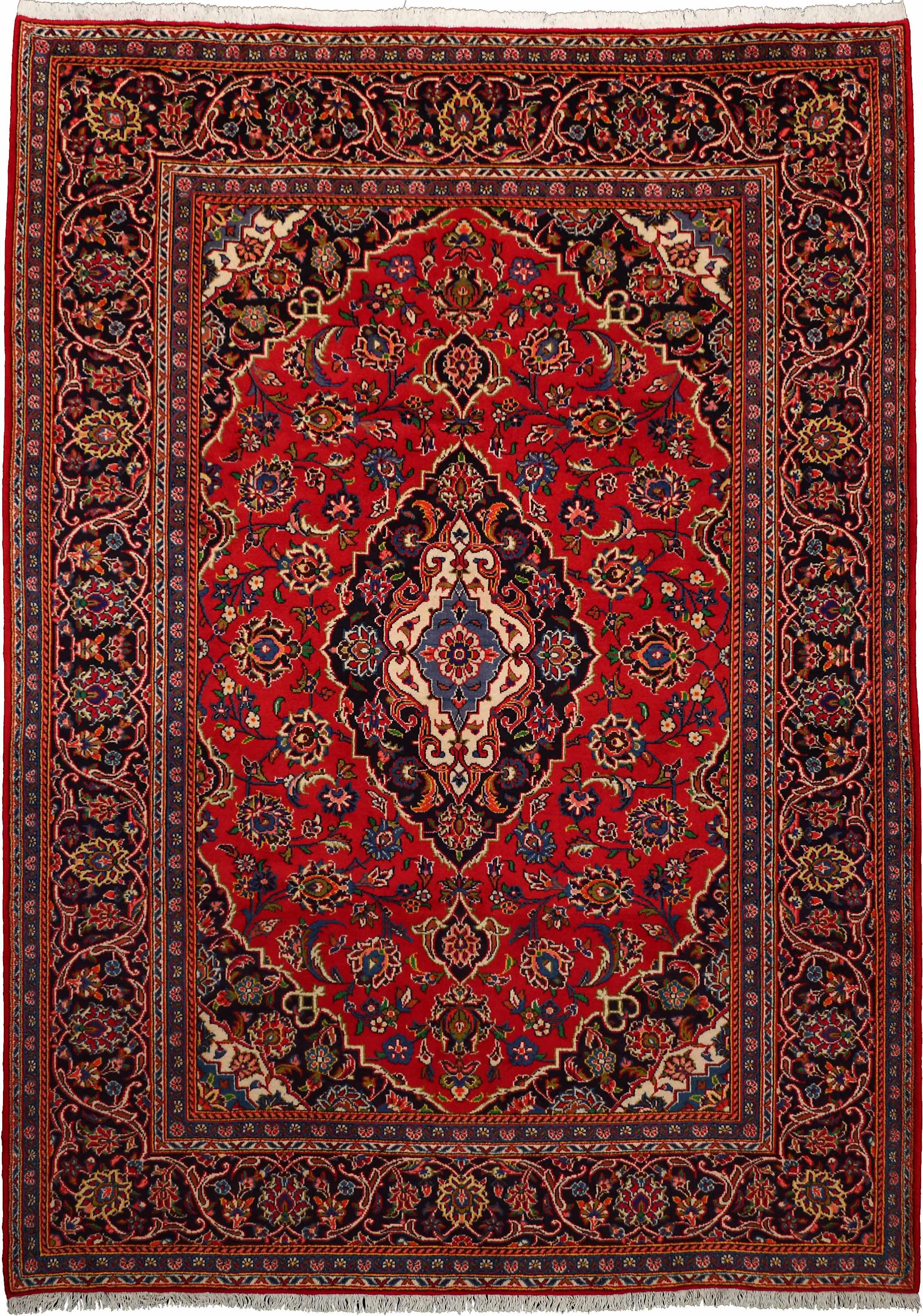 12360 Kashan 278x198cm Iranian Carpet