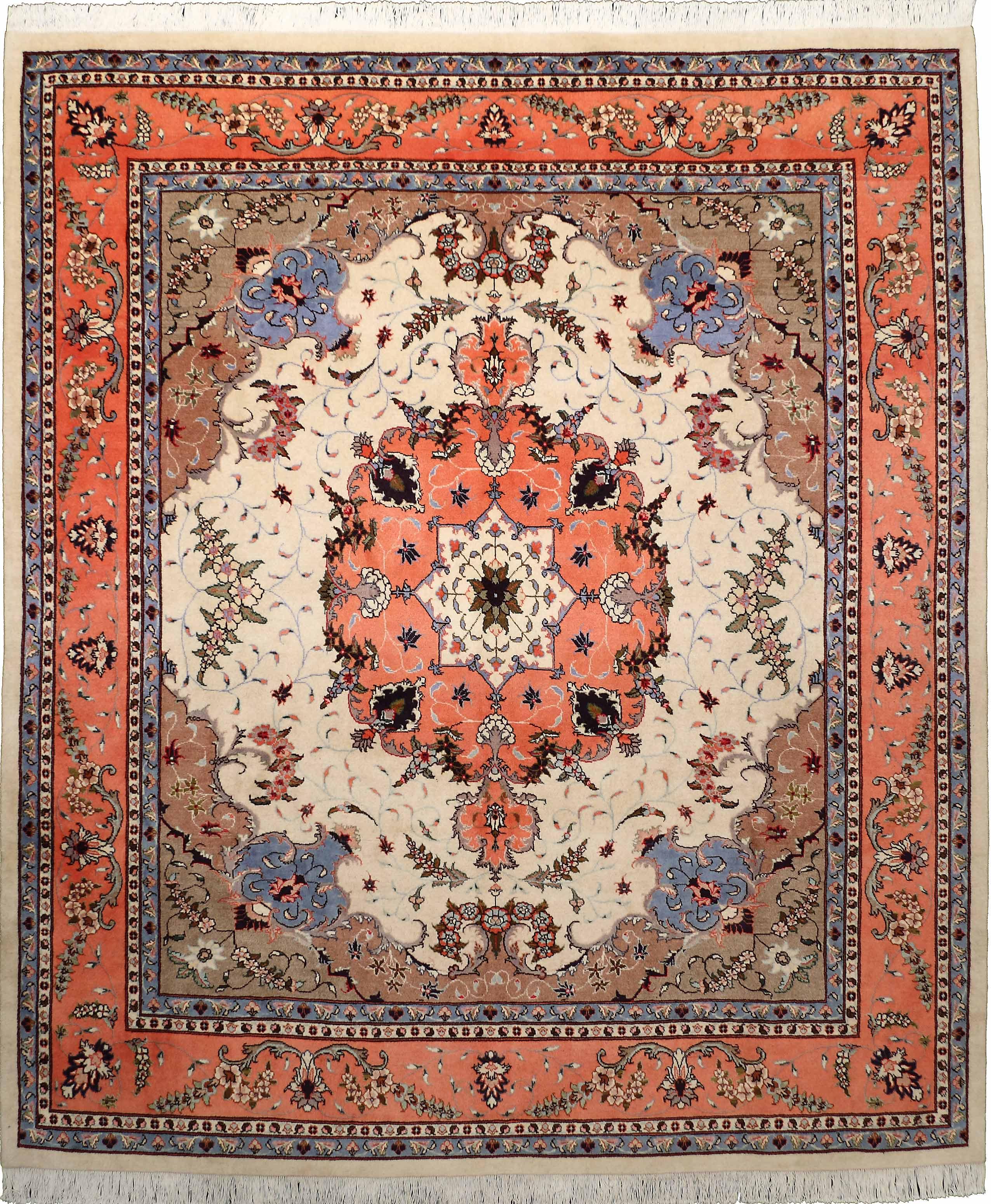 4013 Tabriz 290x250cm Iranian Carpet