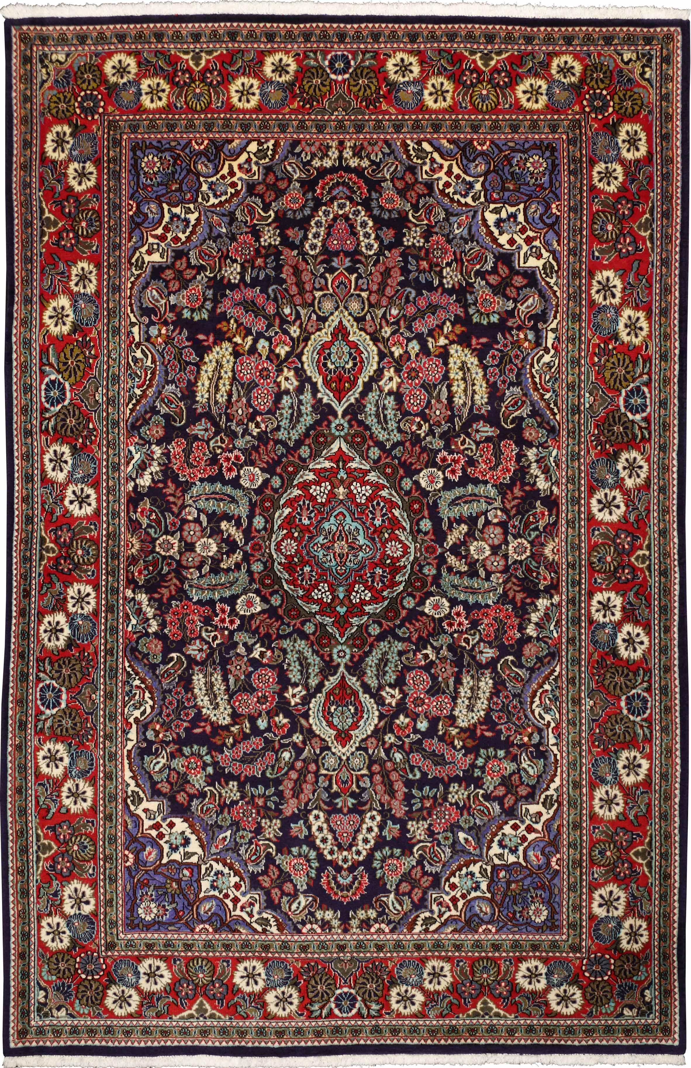 950159 ghom 207x136cm iranian carpet. Black Bedroom Furniture Sets. Home Design Ideas